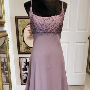 Bari Jay Lavender Formal Gown